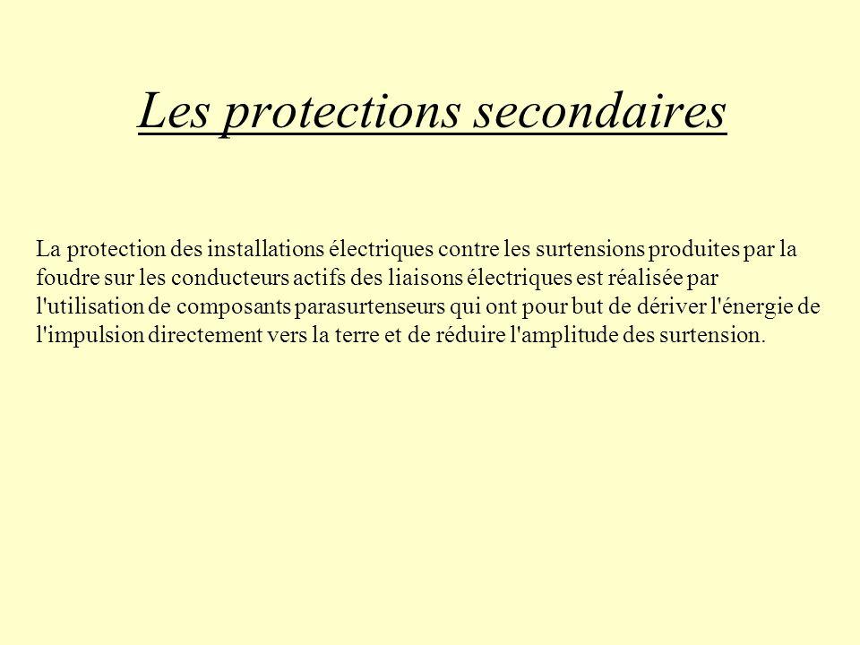 Les protections secondaires