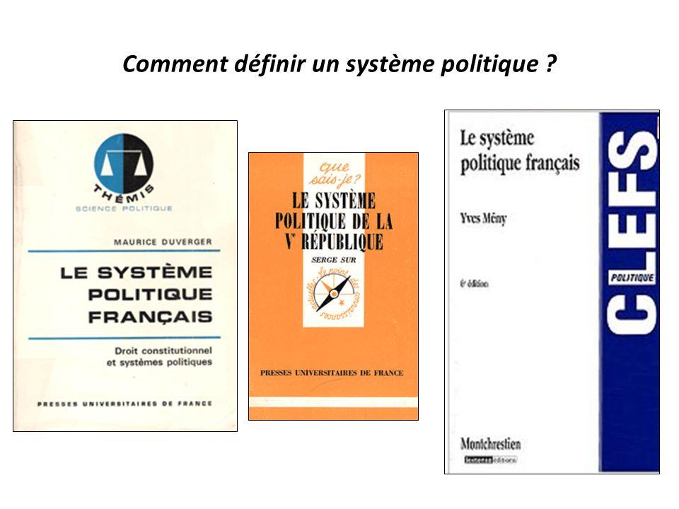 Comment définir un système politique