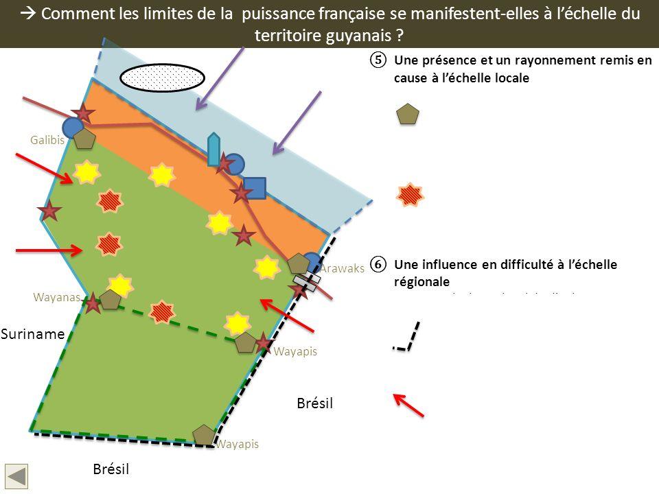  Comment les limites de la puissance française se manifestent-elles à l'échelle du territoire guyanais