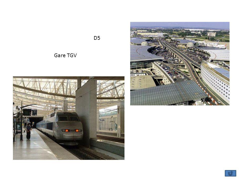 D5 Gare TGV