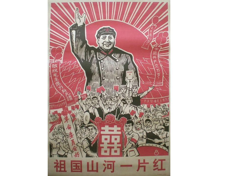 Ce qu'il faut savoir : Mao est présenté comme le guide bienveillant des masses pour accomplir la Révolution (le Grand Timonier)