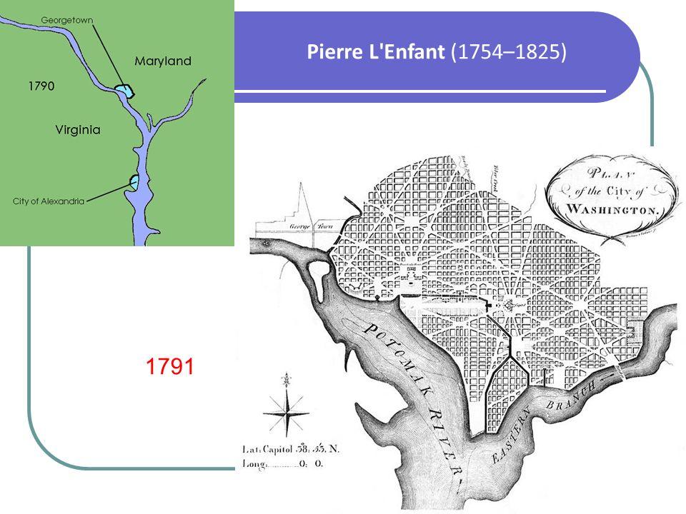 Pierre L Enfant (1754–1825) 1791