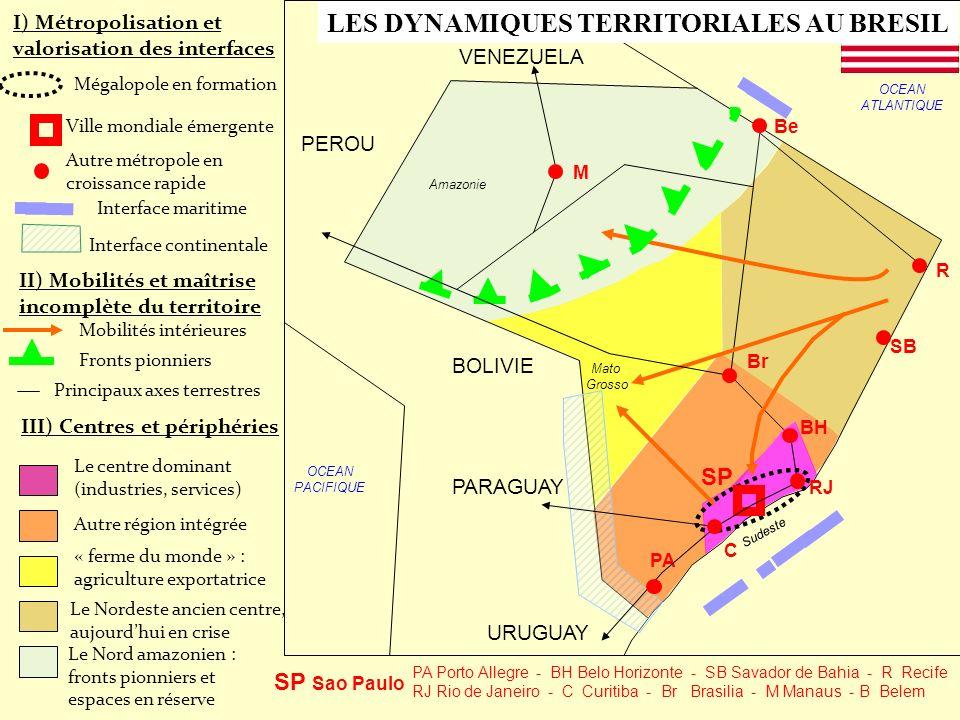 LES DYNAMIQUES TERRITORIALES AU BRESIL