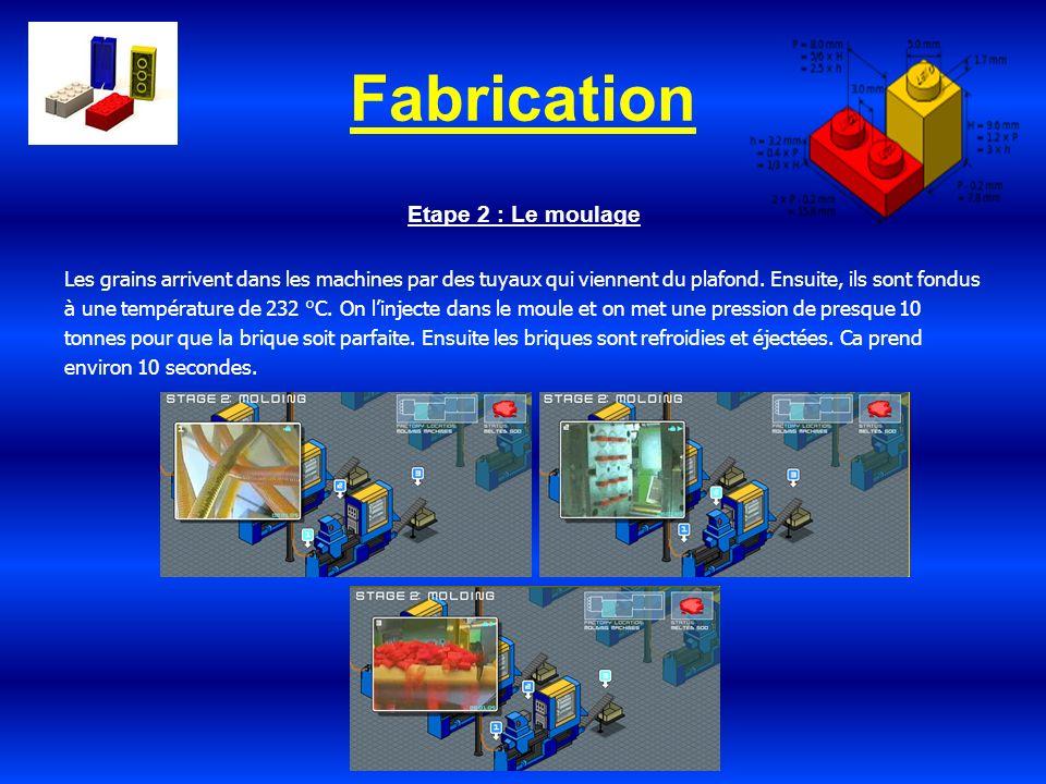 Fabrication Etape 2 : Le moulage