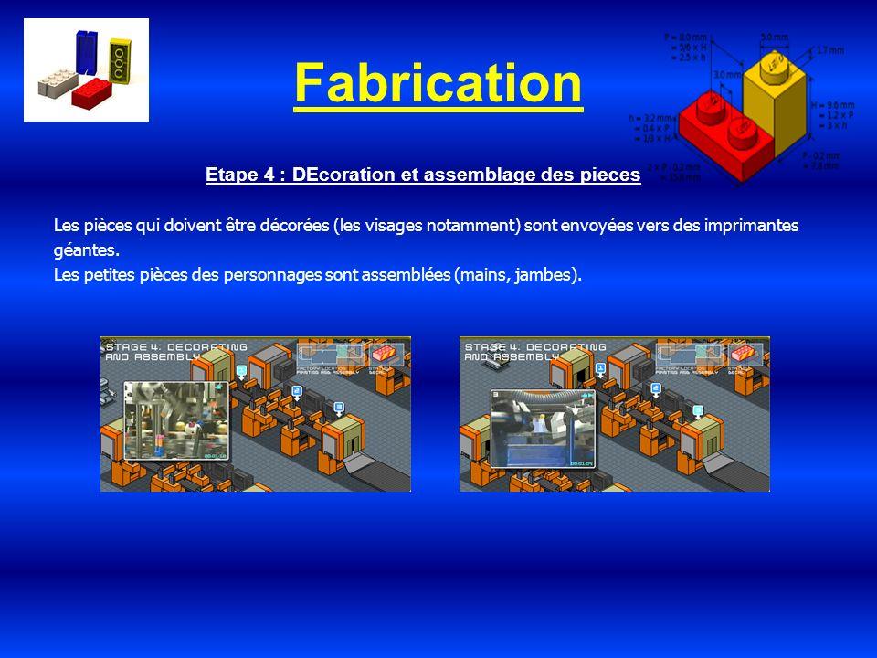 Fabrication Etape 4 : DEcoration et assemblage des pieces