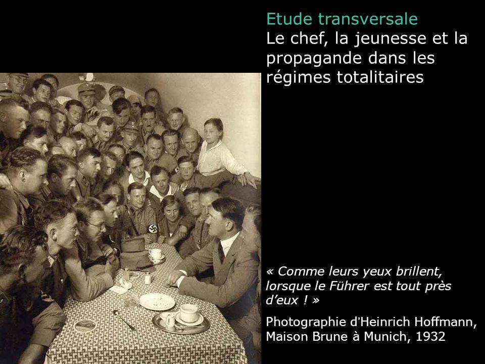 Le chef, la jeunesse et la propagande dans les régimes totalitaires