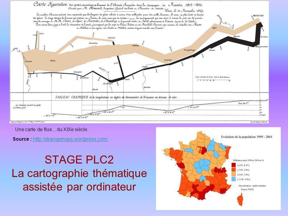 STAGE PLC2 La cartographie thématique assistée par ordinateur