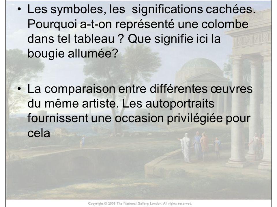 Les symboles, les significations cachées