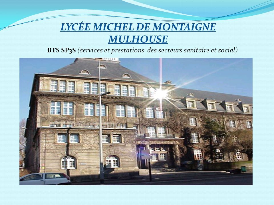 LYCÉE MICHEL DE MONTAIGNE