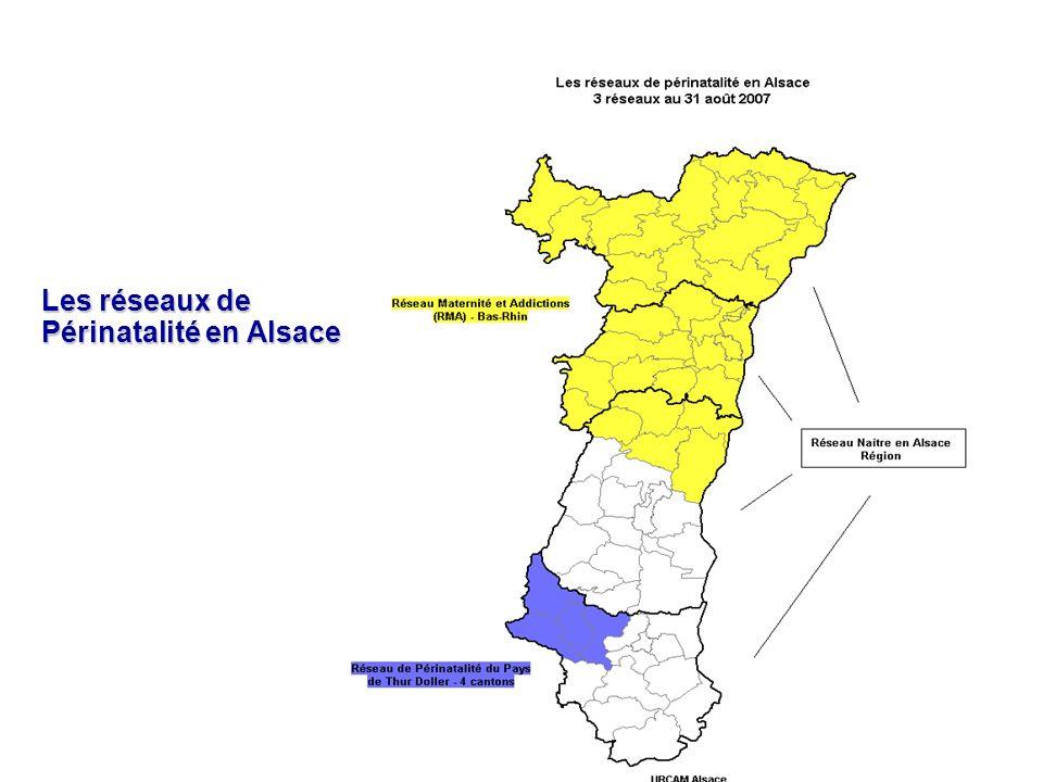 Les réseaux de Périnatalité en Alsace