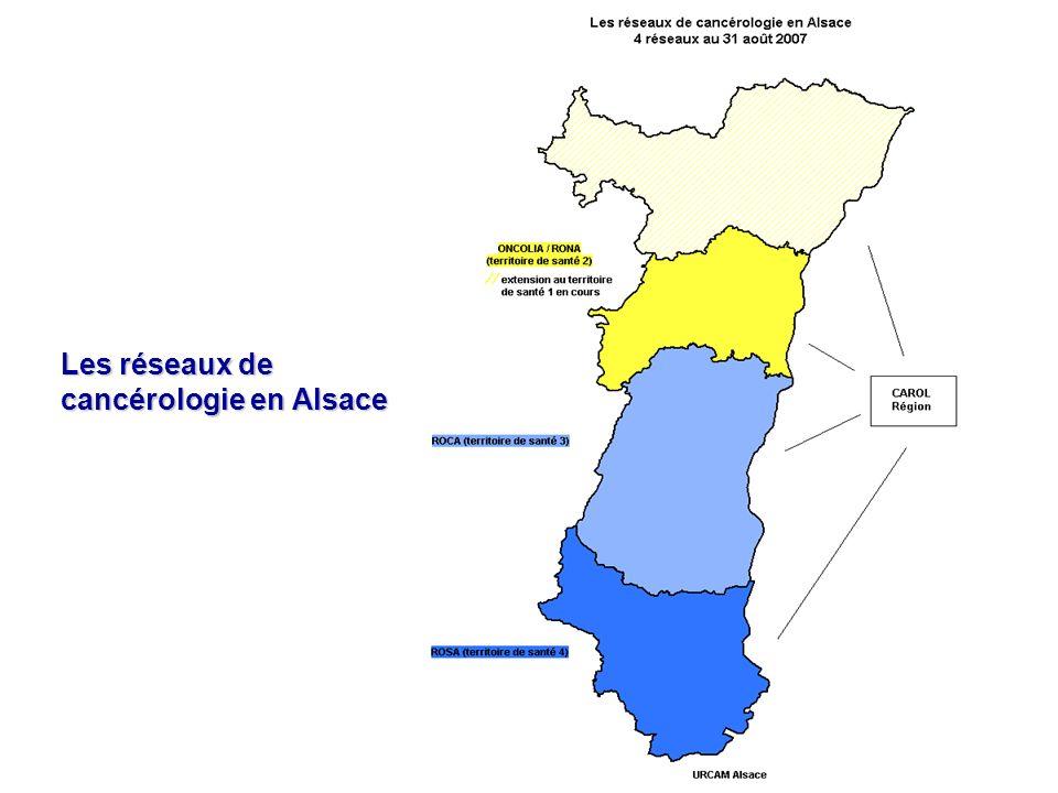 Les réseaux de cancérologie en Alsace