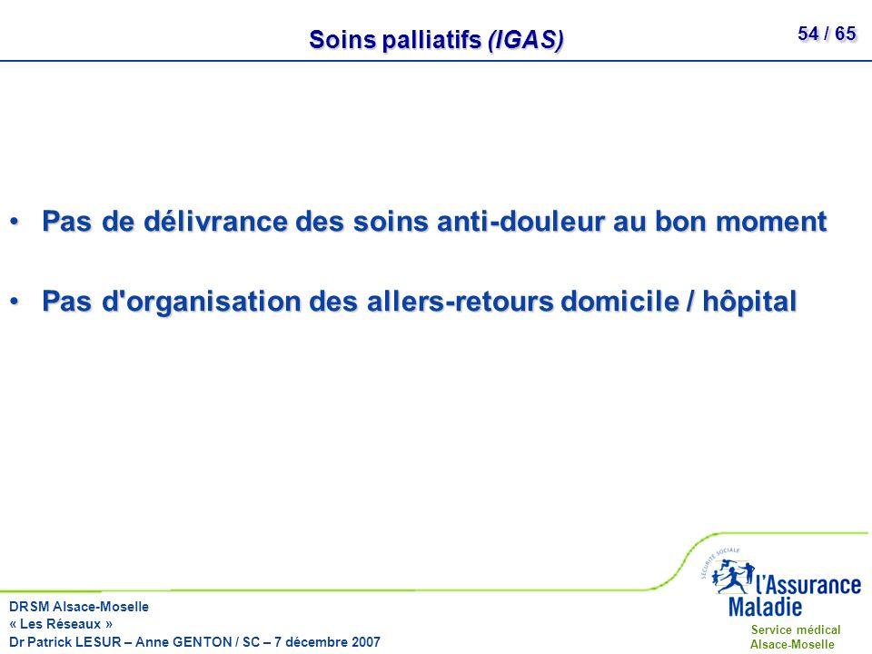 Soins palliatifs (IGAS)