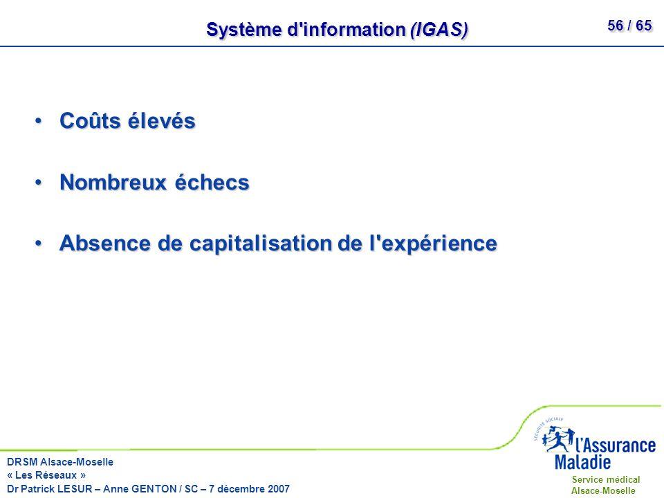 Système d information (IGAS)