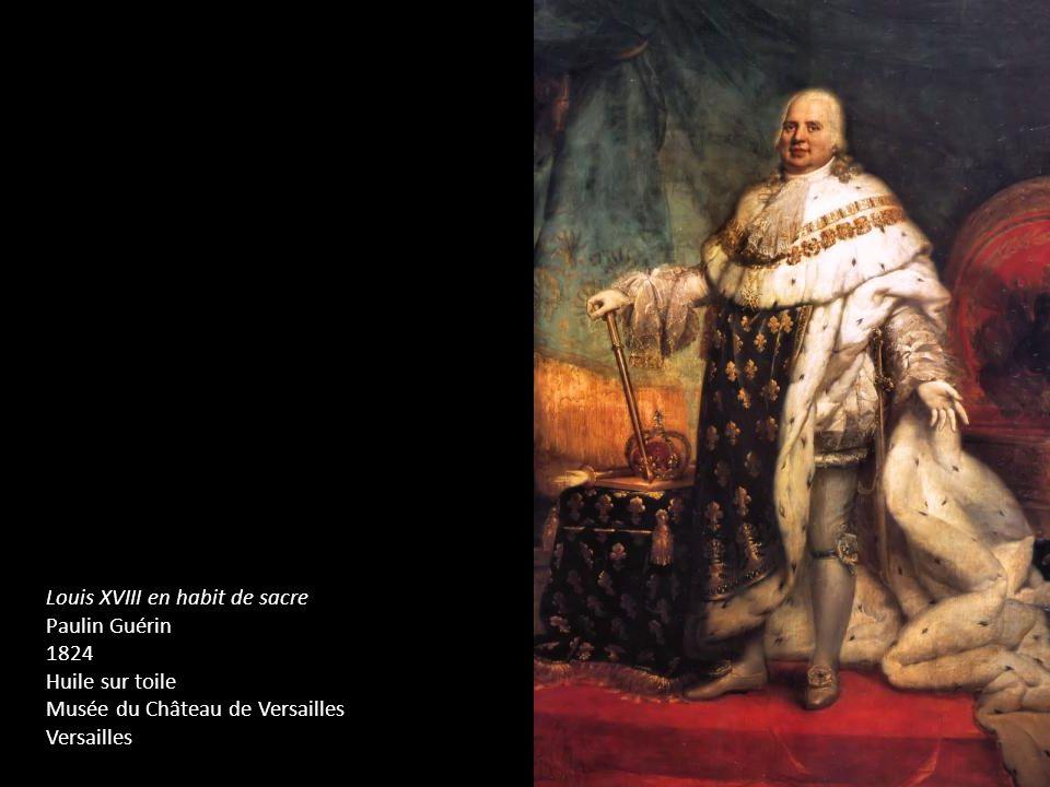 Louis XVIII en habit de sacre