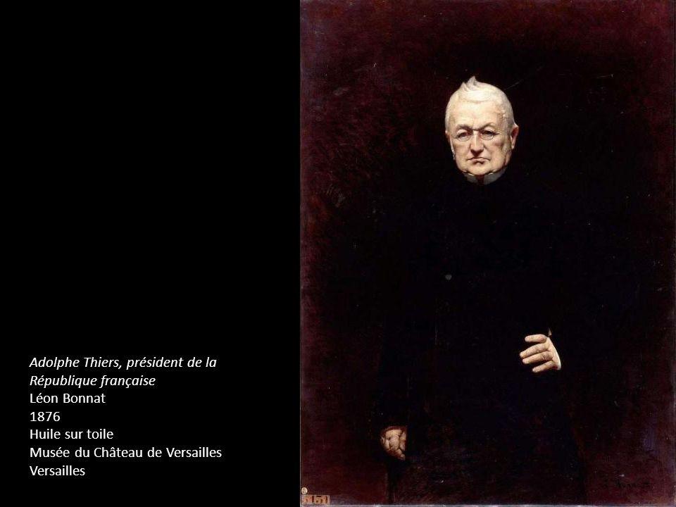 Adolphe Thiers, président de la République française