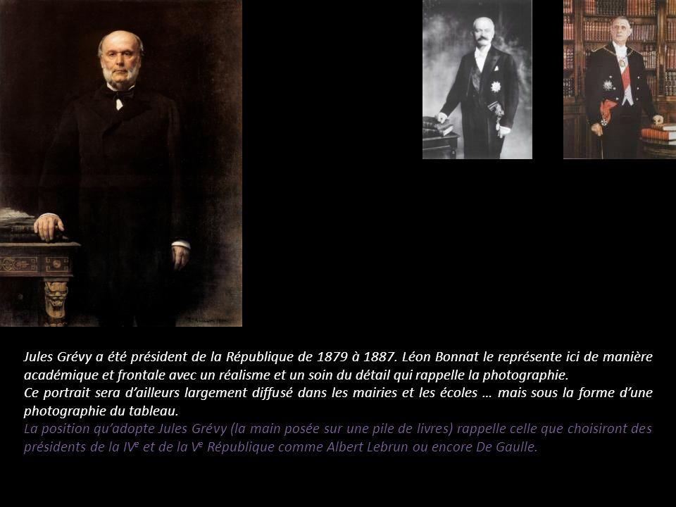 Jules Grévy a été président de la République de 1879 à 1887