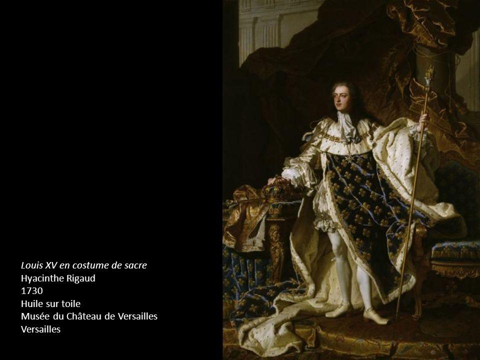 Louis XV en costume de sacre