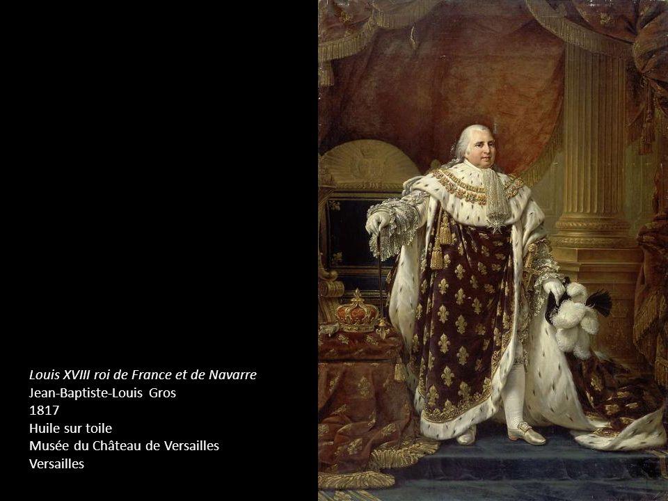 Louis XVIII roi de France et de Navarre