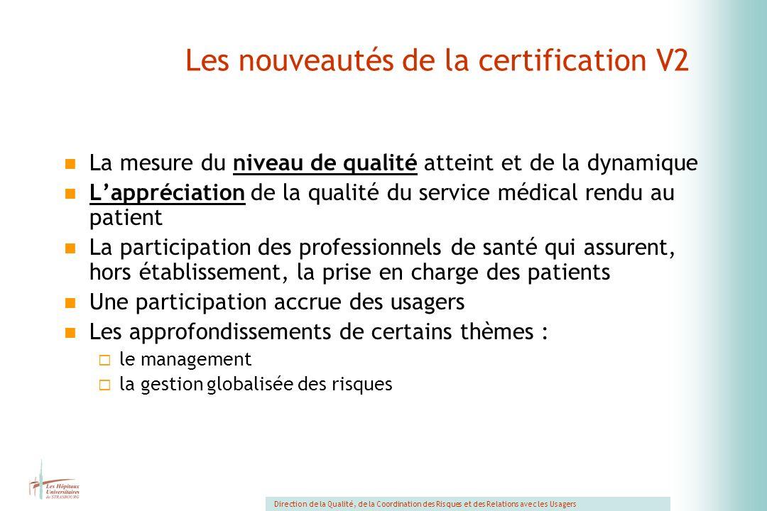 Les nouveautés de la certification V2