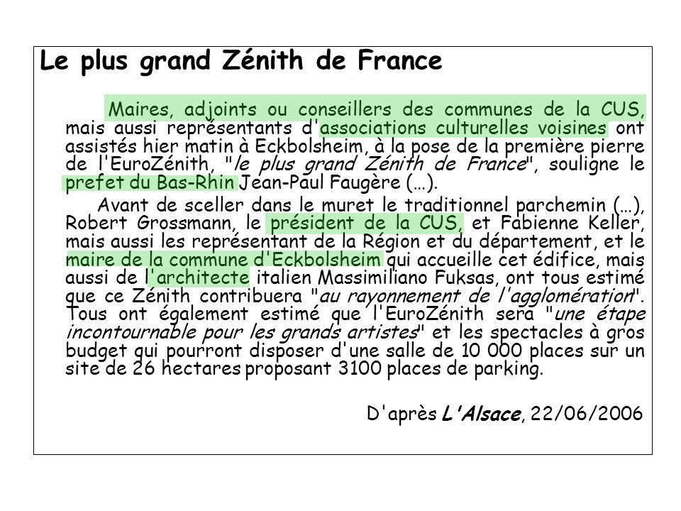 Le plus grand Zénith de France
