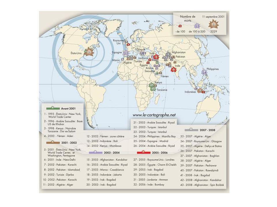 MENACES TERRORISTES MONDIALES