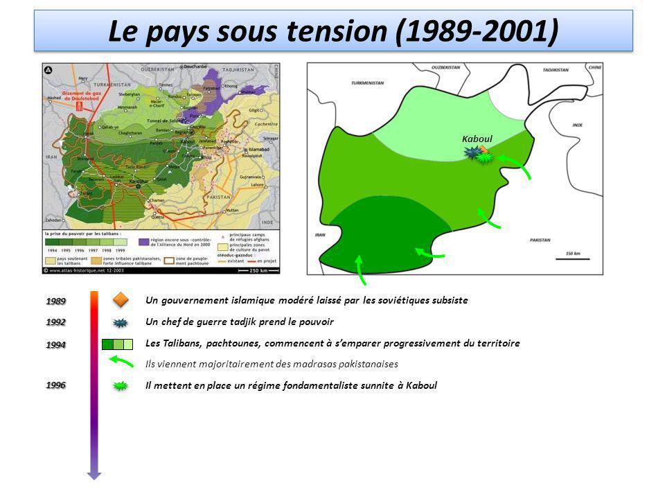 Le pays sous tension (1989-2001)