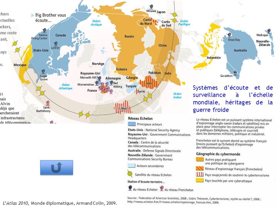 Systèmes d'écoute et de surveillance à l'échelle mondiale, héritages de la guerre froide