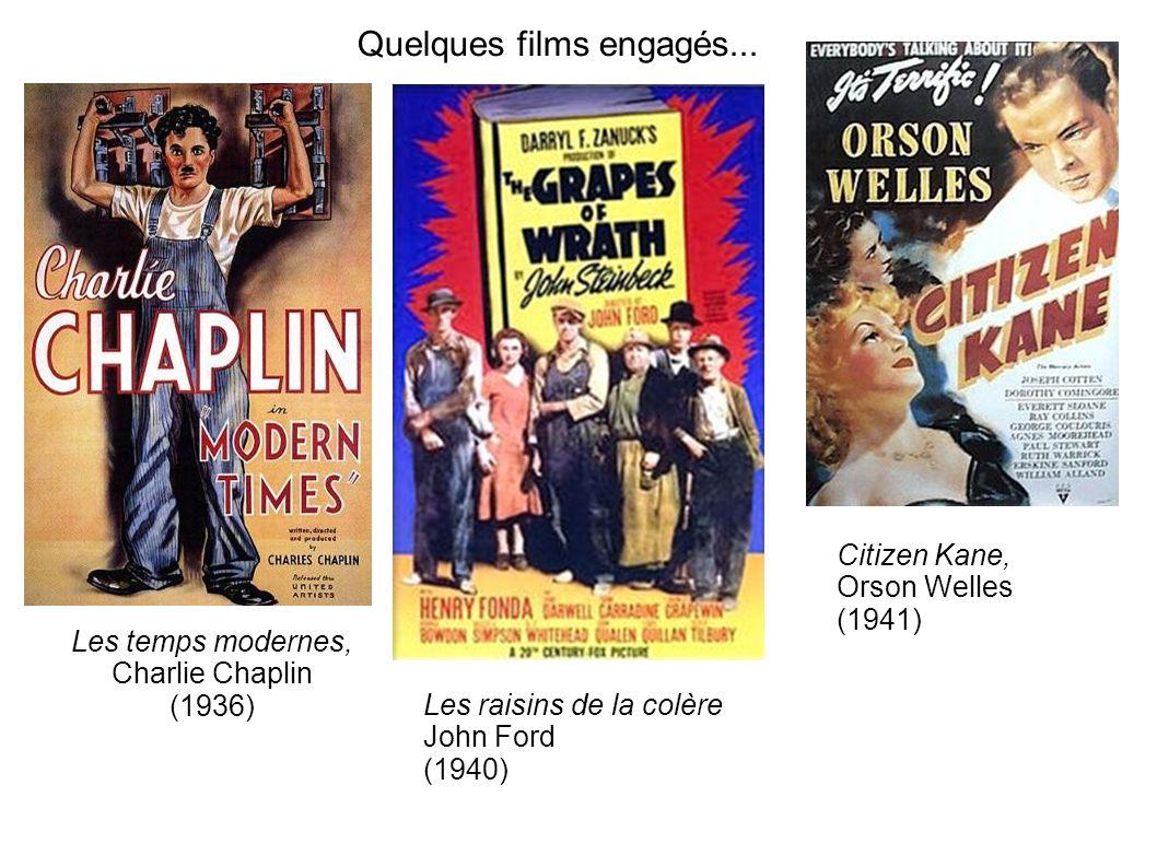 Quelques films engagés...