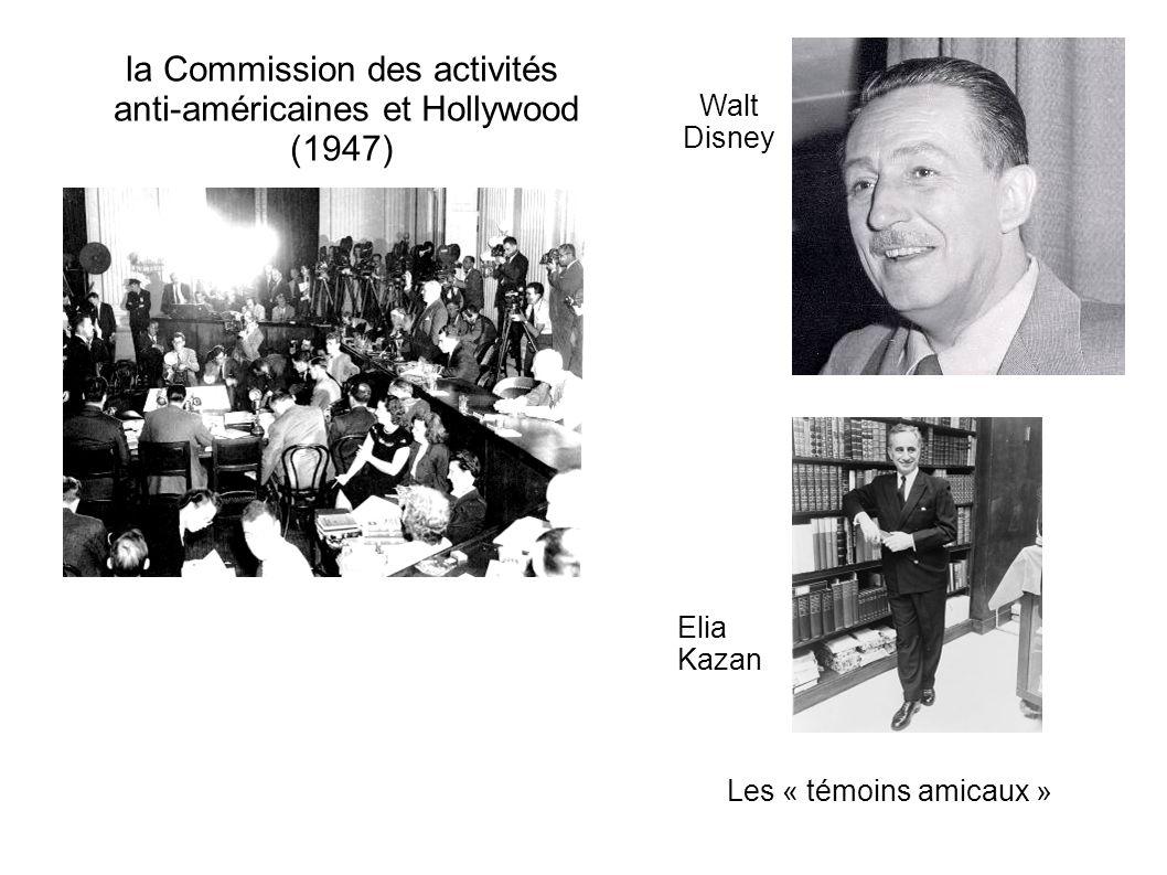la Commission des activités anti-américaines et Hollywood (1947)
