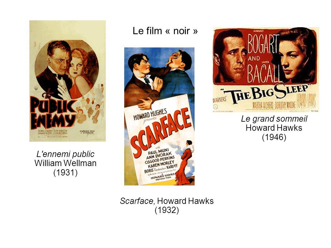 Le film « noir » Le grand sommeil Howard Hawks (1946)