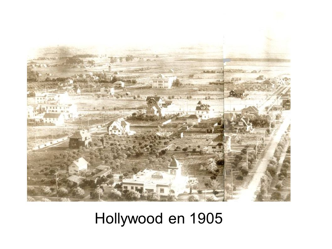 Hollywood en 1905