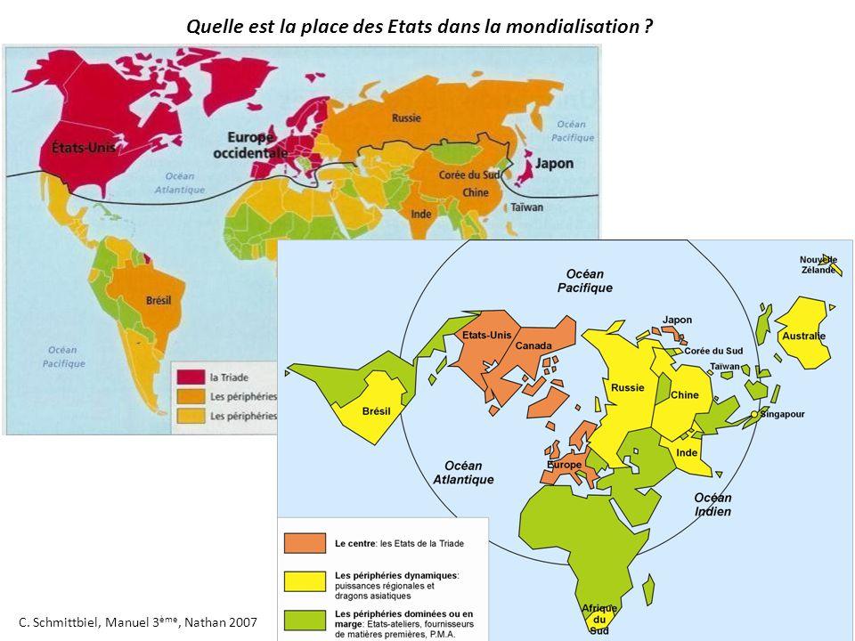 Quelle est la place des Etats dans la mondialisation