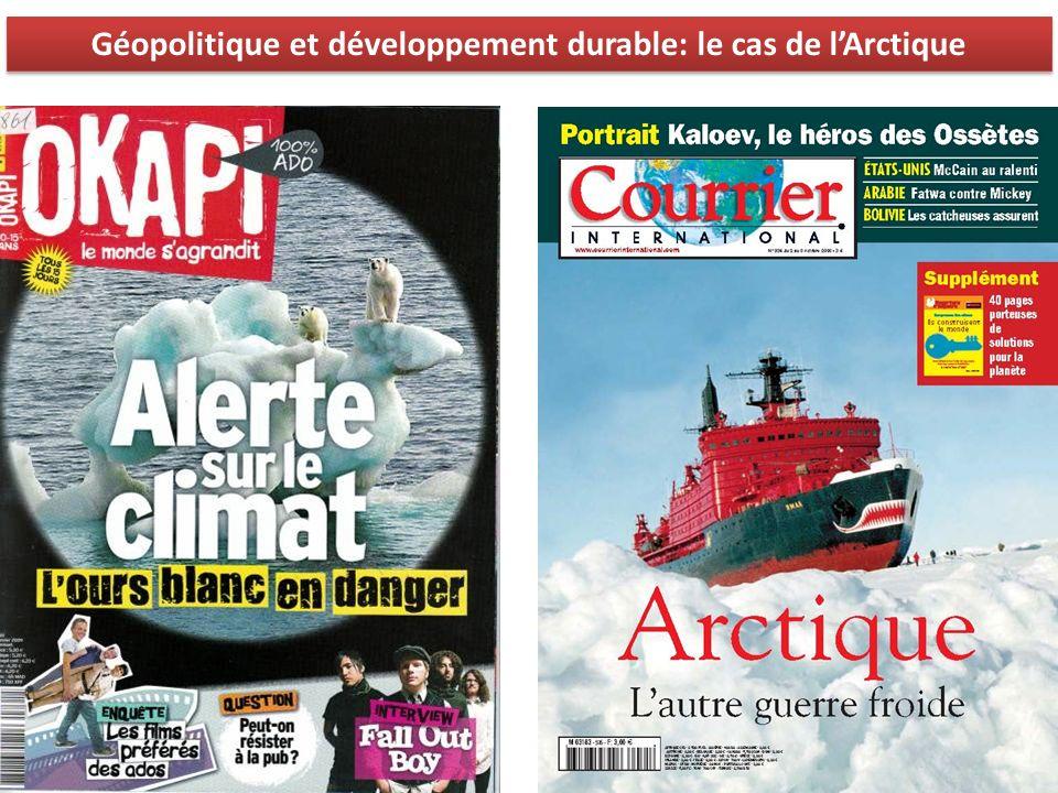 Géopolitique et développement durable: le cas de l'Arctique