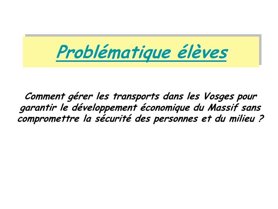 Problématique élèves