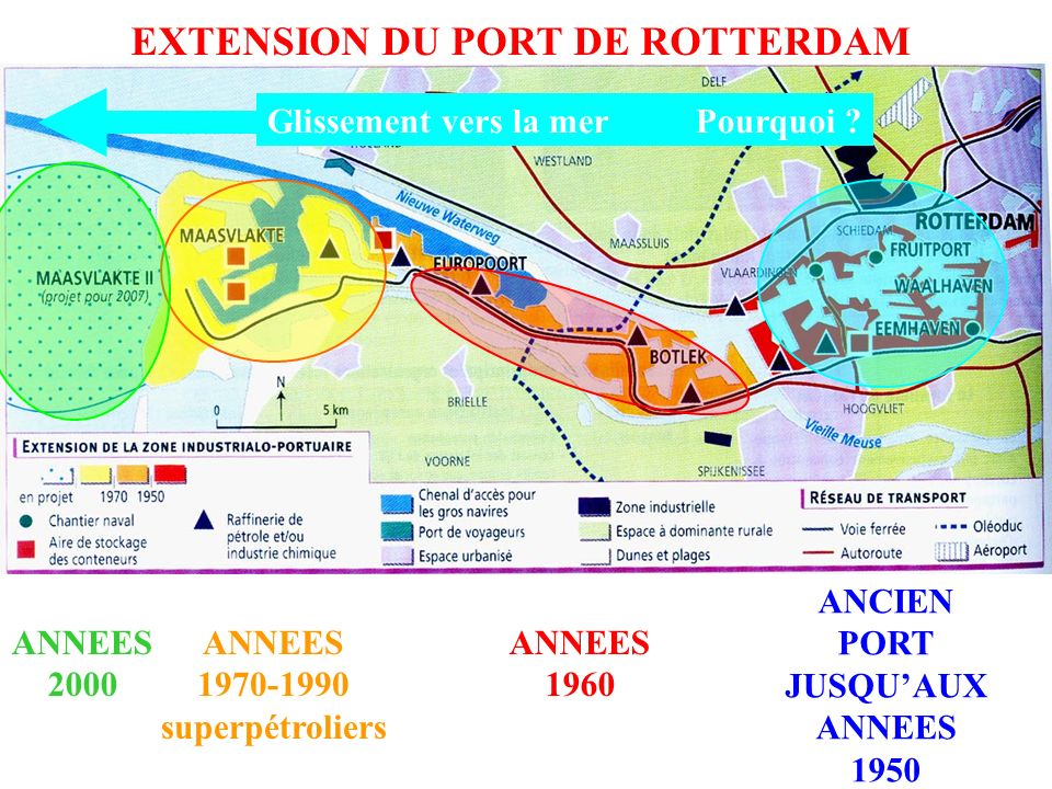 EXTENSION DU PORT DE ROTTERDAM
