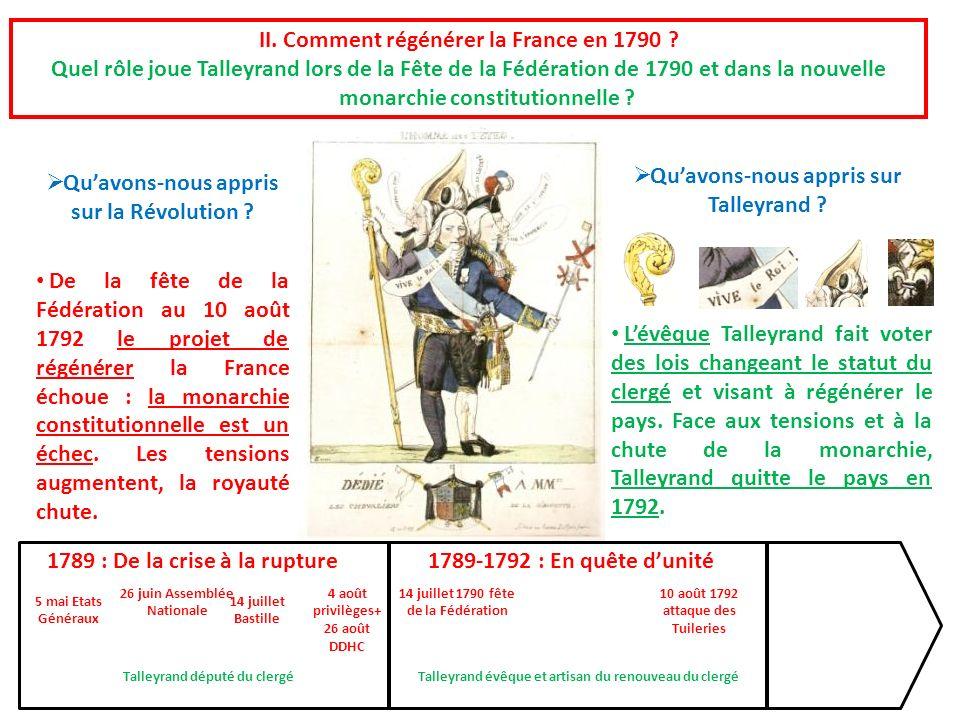 II. Comment régénérer la France en 1790