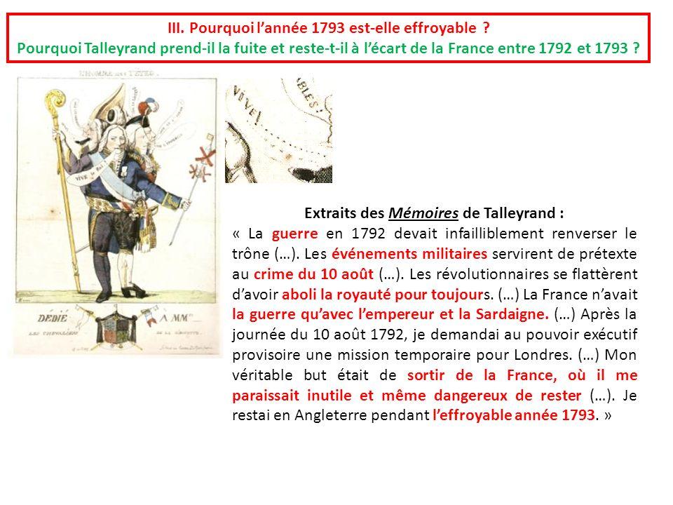 III. Pourquoi l'année 1793 est-elle effroyable