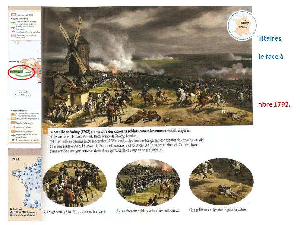 Quels sont ces événements militaires décrits par Talleyrand