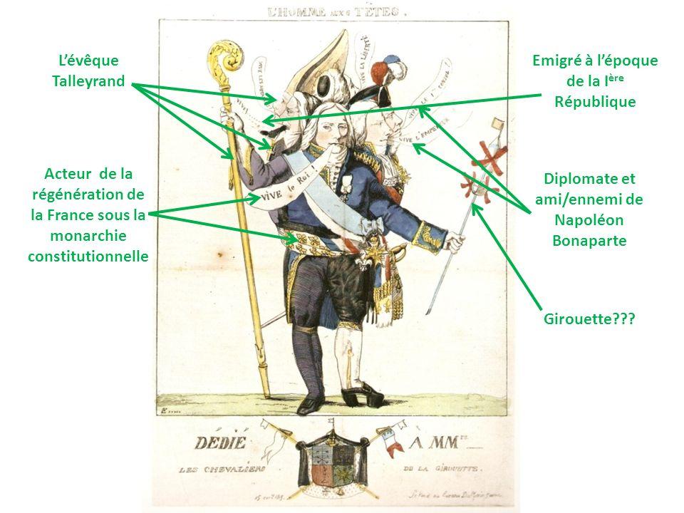 Emigré à l'époque de la Ière République