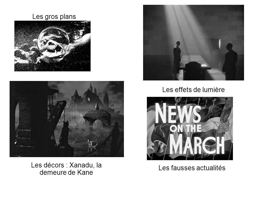 Les décors : Xanadu, la demeure de Kane Les fausses actualités