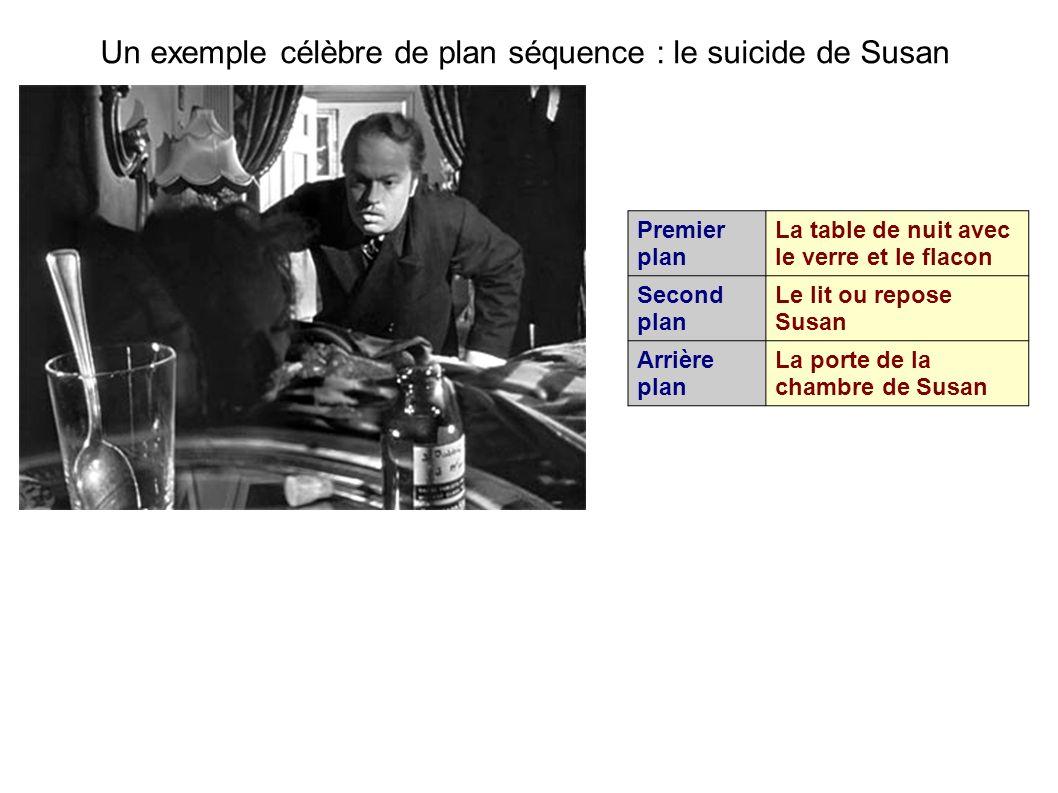 Un exemple célèbre de plan séquence : le suicide de Susan
