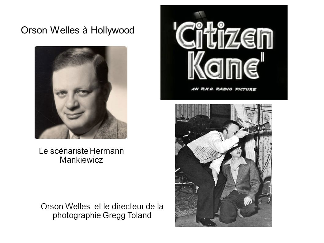 Orson Welles à Hollywood