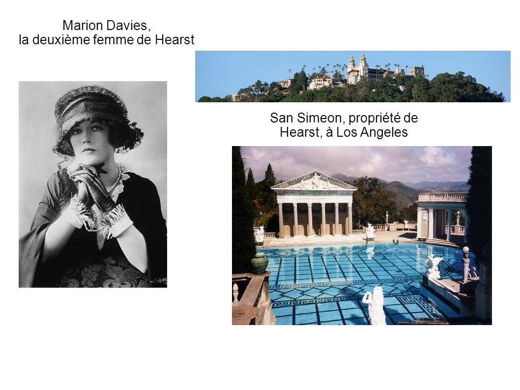 Marion Davies, la deuxième femme de Hearst