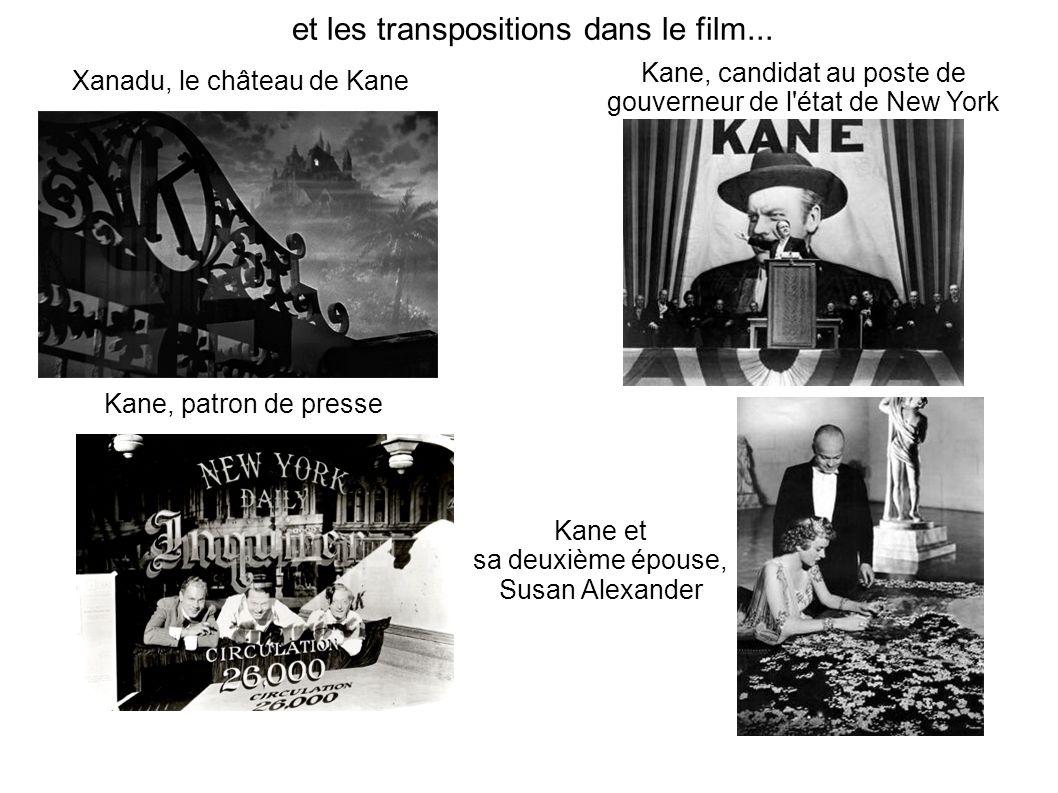 et les transpositions dans le film...