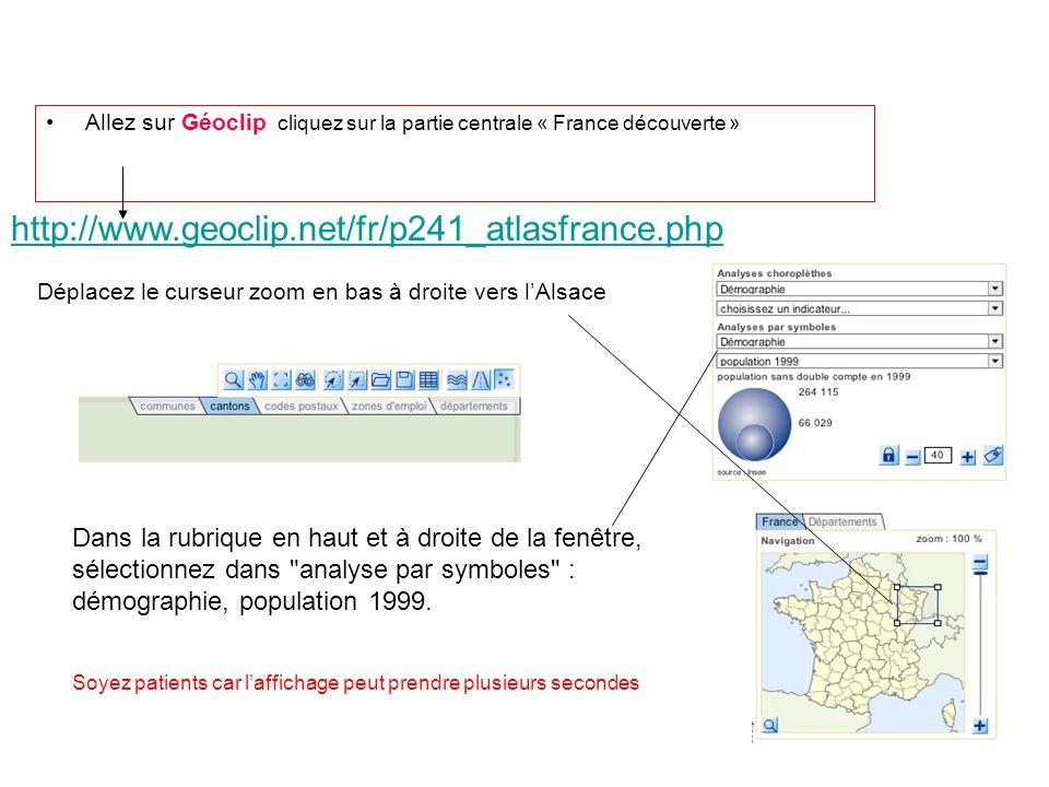 Allez sur Géoclip cliquez sur la partie centrale « France découverte »