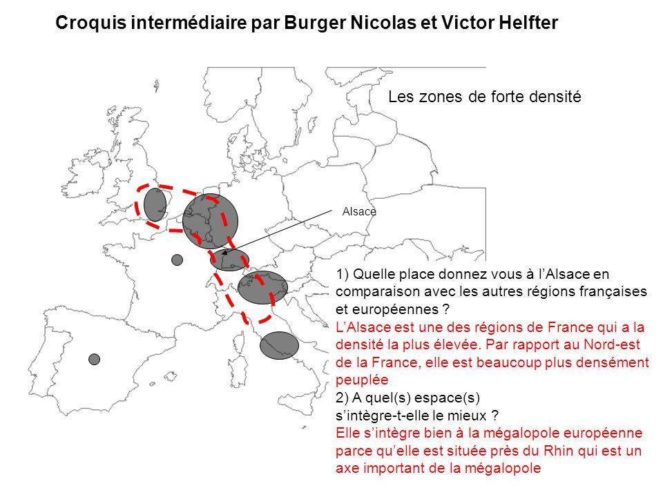 Croquis intermédiaire par Burger Nicolas et Victor Helfter