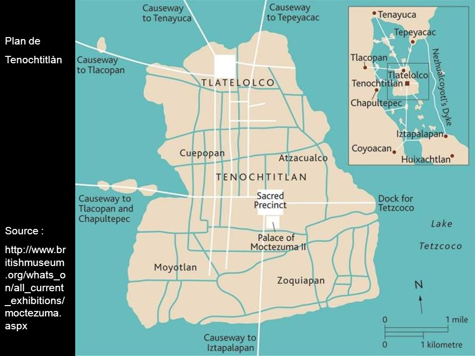 Plan de Tenochtitlàn.