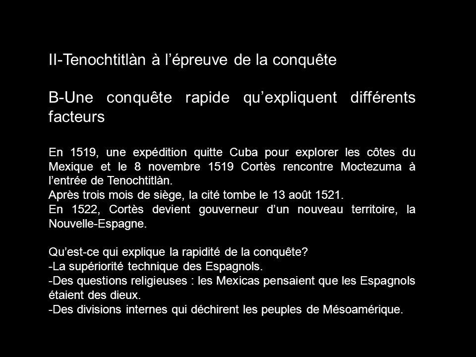 II-Tenochtitlàn à l'épreuve de la conquête
