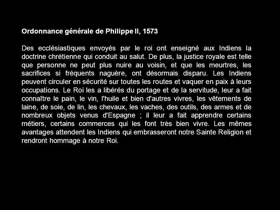 Ordonnance générale de Philippe Il, 1573
