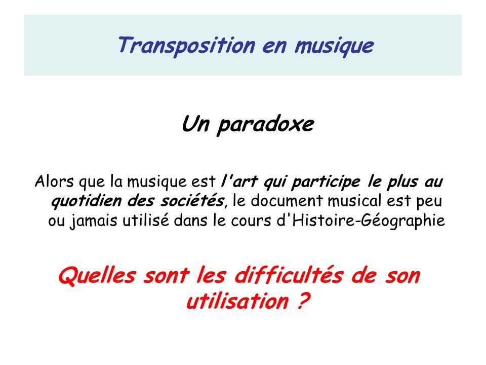 Transposition en musique